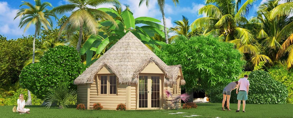 Bungalow Tropical Island